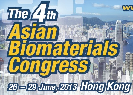 The 4th Asian Biomaterials Congress